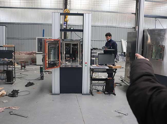 高低温万能拉力试验机